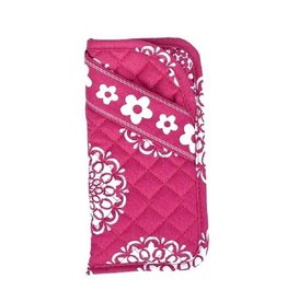 Stephanie Dawn Double Eyeglass Case Pink and Proper