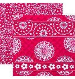 Stephanie Dawn Zip Tote Pink & Proper