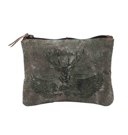 Myra Bags S-0787 Vintage Reindeer Pouch