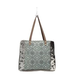 Myra Bags S-0933 Floral Chic Canvas Tote