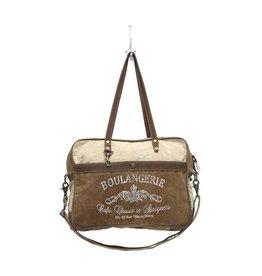 Myra Bags S-0964 Boulangerie Messenger Bag