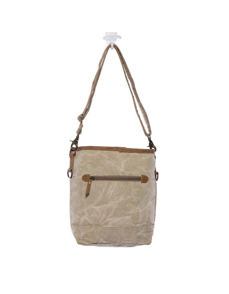 Myra Bags S-1125 Hairon Flap Pocket Bag