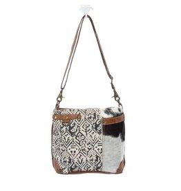 Myra Bags S-1129 Hairon And Cotton Rug Bag
