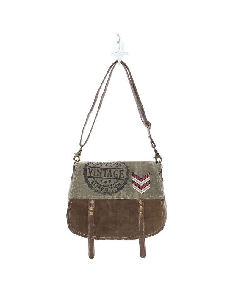Myra Bags S-1133 Retro Design Messenger Bag