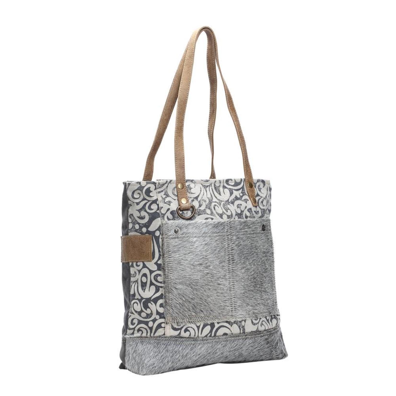 Myra Bags S-1139 Hairon Pockets Tote