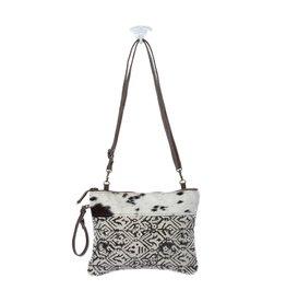 Myra Bags S-1147 Dual Strap Cotton Rug Crossbody