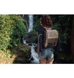 Myra Bags S-1005 Bicycle Print Backpack