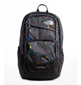 The North Face Wise Guy Backpack - Black Climbfetti Print/TNF Black
