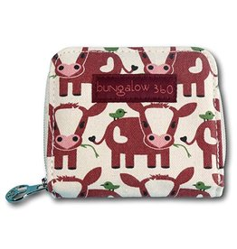 Bungalow 360 Billfold Wallet Cow