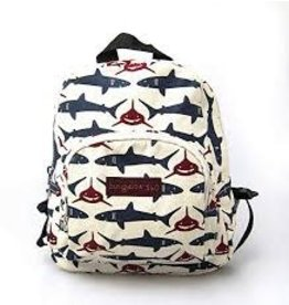 Bungalow 360 Kids Backpack Shark