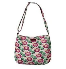 Bungalow 360 Messenger Bag Hibiscus Flower