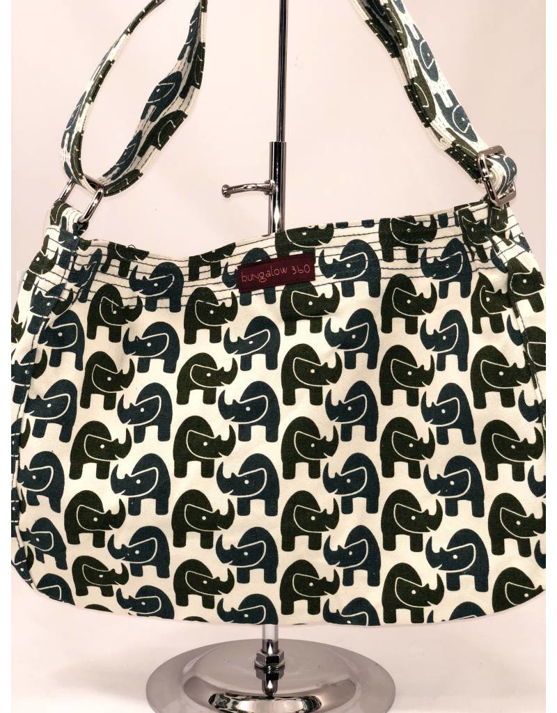 Bungalow 360 Messenger Bag Rhino
