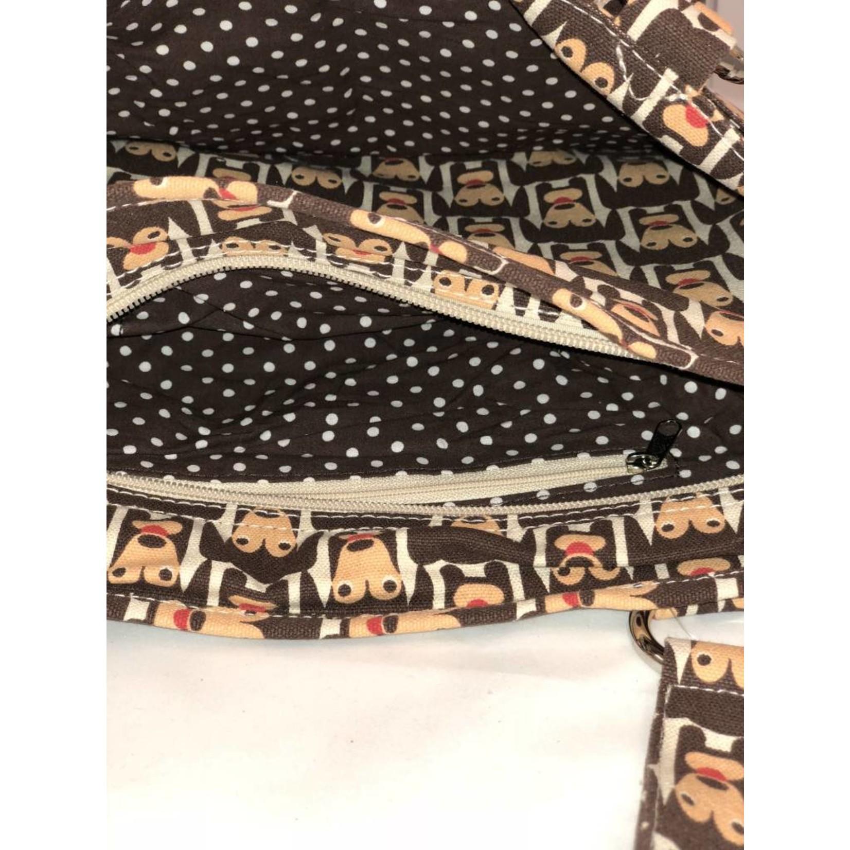 Bungalow 360 Pocket Bag - Happy Dog