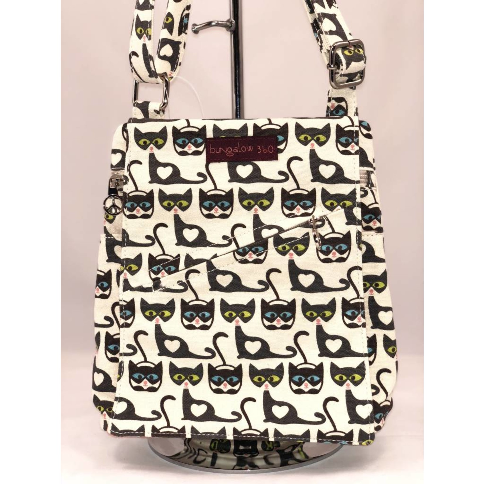 Bungalow 360 Small Messenger Bag - Cat