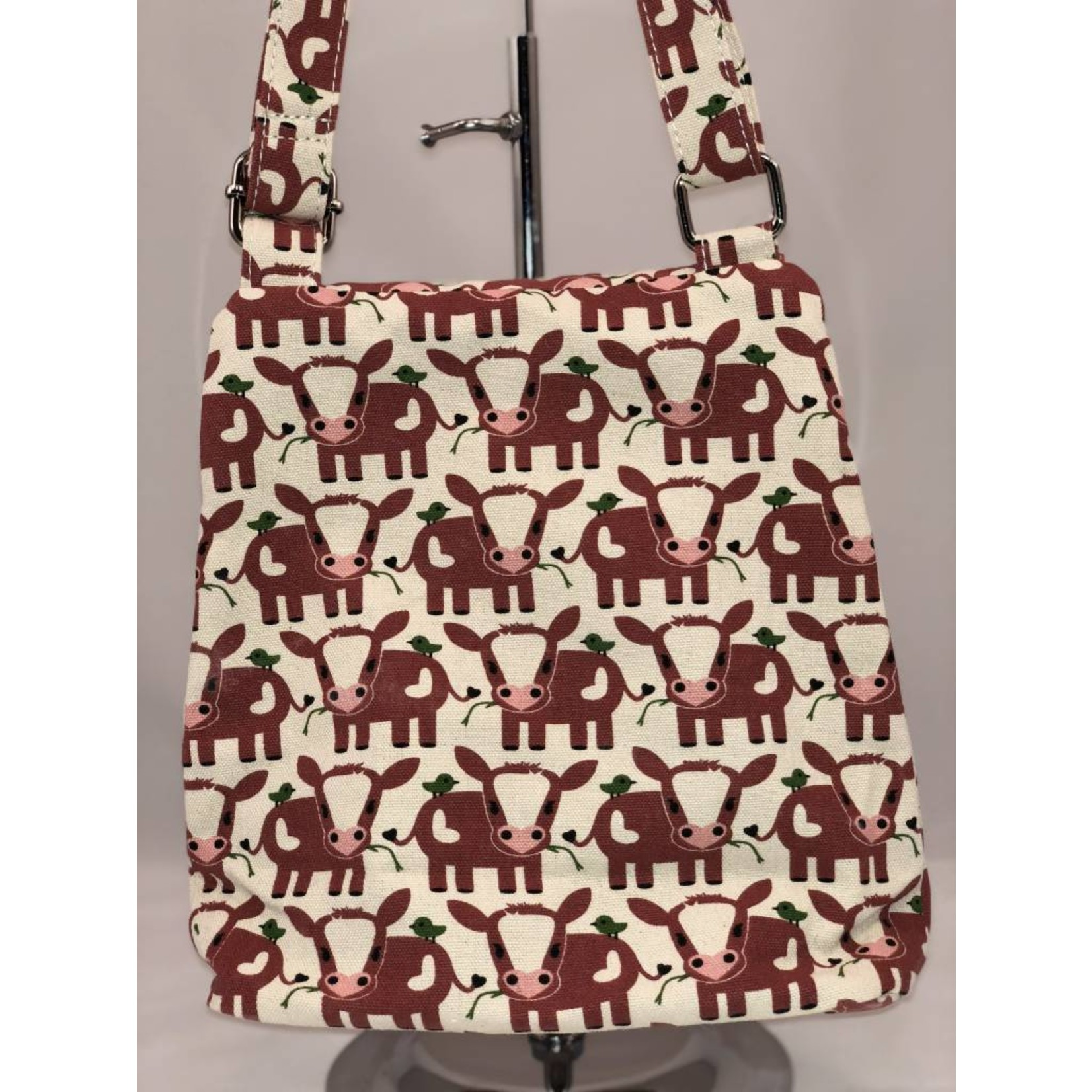 Bungalow 360 Small Messenger Bag  - Cow
