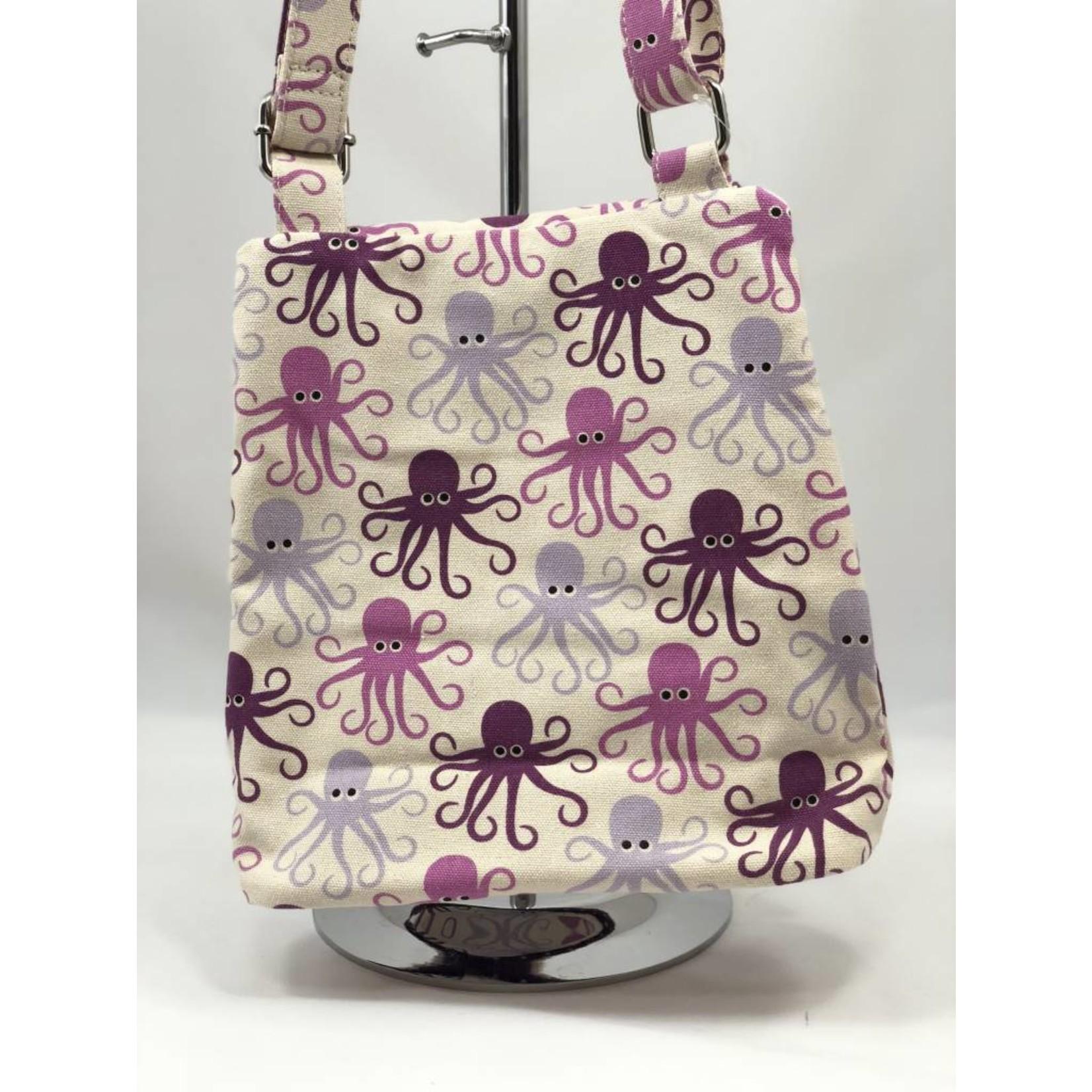 Bungalow 360 Small Messenger Bag - Octopus