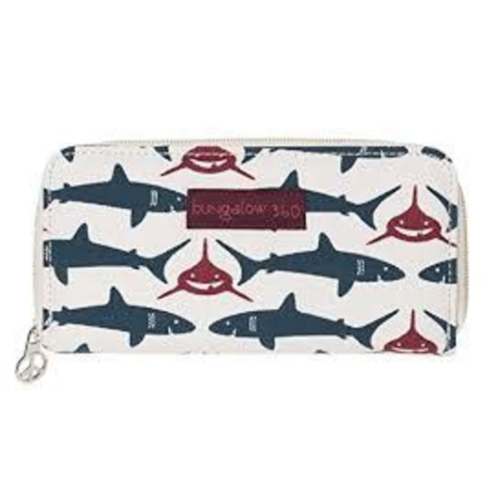 Bungalow 360 Zip Around Wallet - Shark