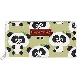 Bungalow 360 Zip Around Wallet Panda