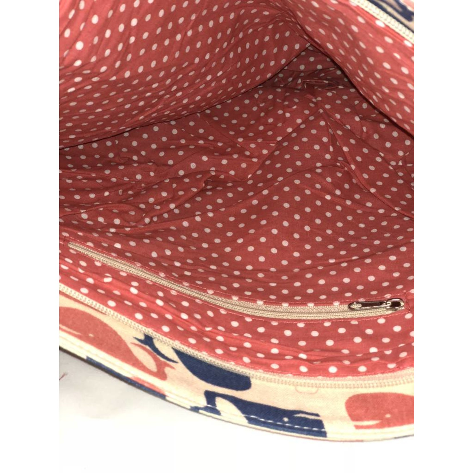 Bungalow 360 Canvas Striped Tote - Whale