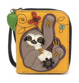 Chala Zip Around Wallet Sloth