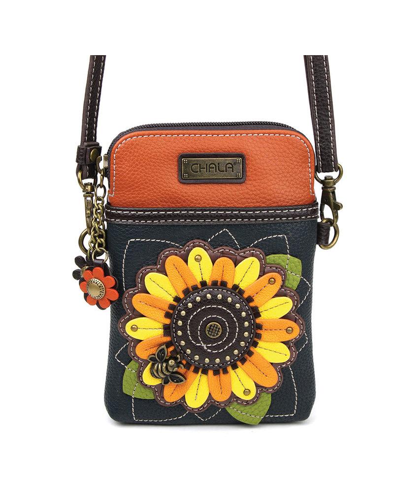 Chala Cell Phone Crossbody Sunflower