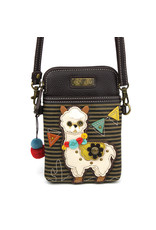 Chala Cell Phone Crossbody Llama Stripe