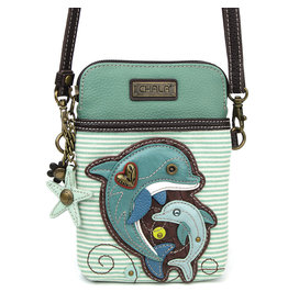 Chala Cell Phone Crossbody Dolphin Stripe