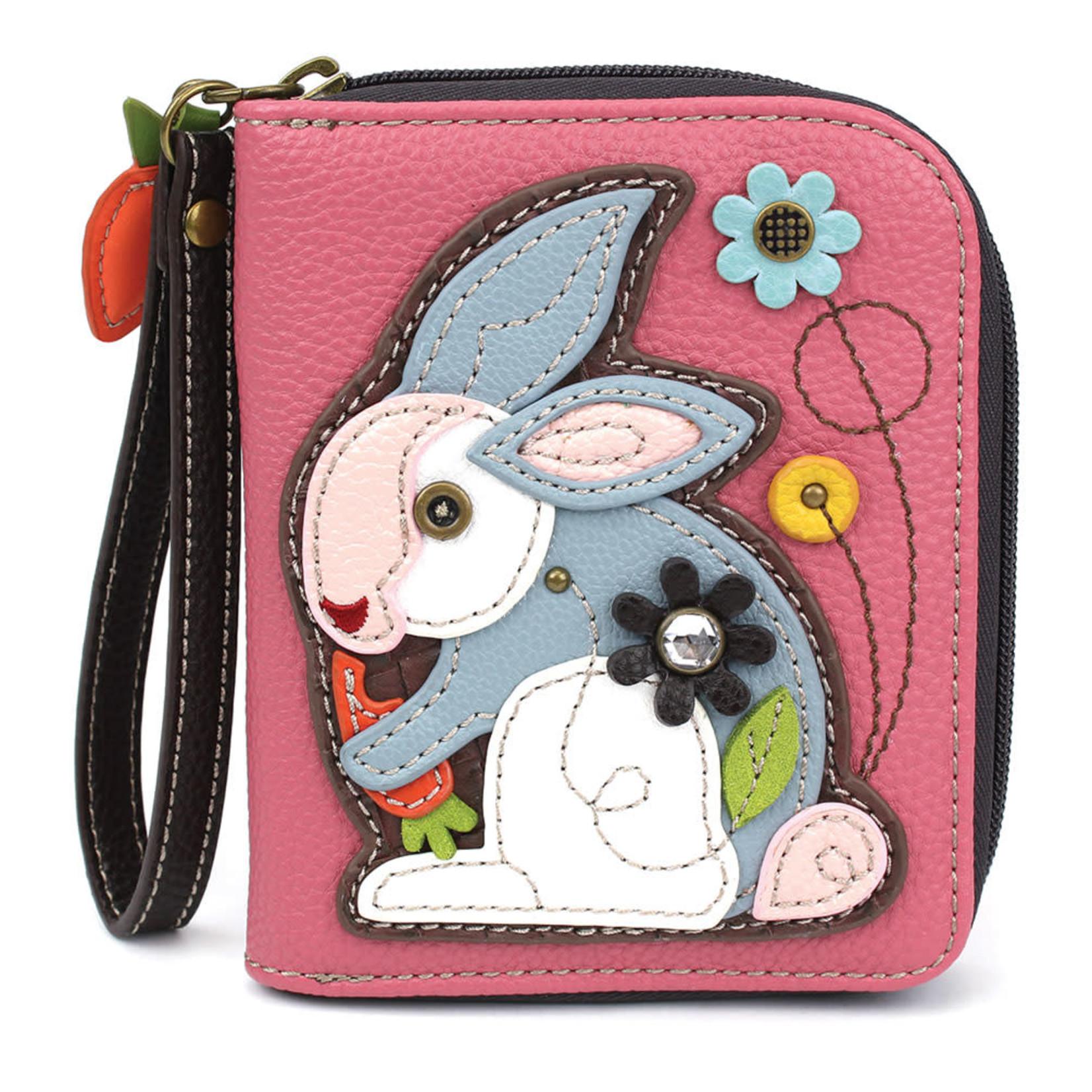 Chala Zip Around Wallet Rabbit