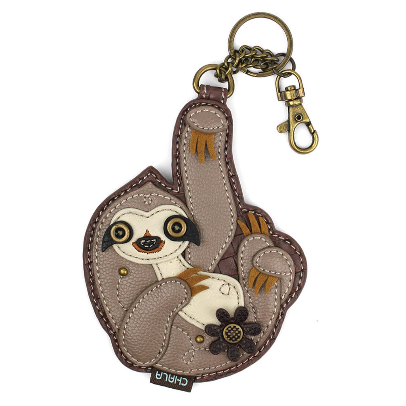 Chala Key Fob Sloth