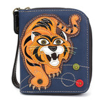 Chala Zip Around Wallet Tiger