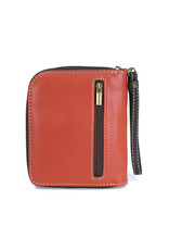 Chala Zip Around Wallet Tiger