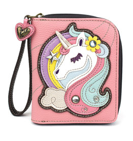 Chala Zip Around Wallet Unicorn