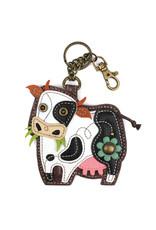 Chala Key Fob Cow