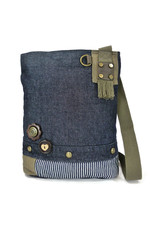 Chala Patch Crossbody Denim