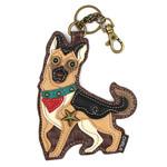 Chala Key Fob German Shepherd