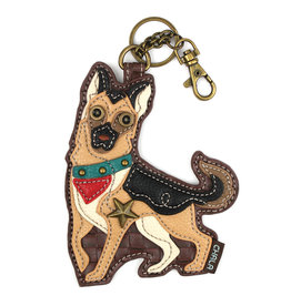 Chala Key Fob German Shepherd