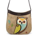 Chala Crescent Crossbody Owl A