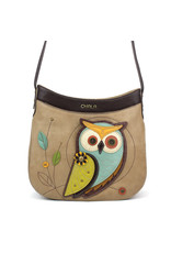 Chala Crescent Crossbody Owl A