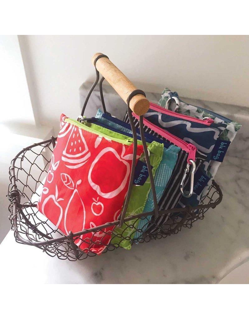 Rock Flower Paper 39-8383I Fruit Red Blu Bag