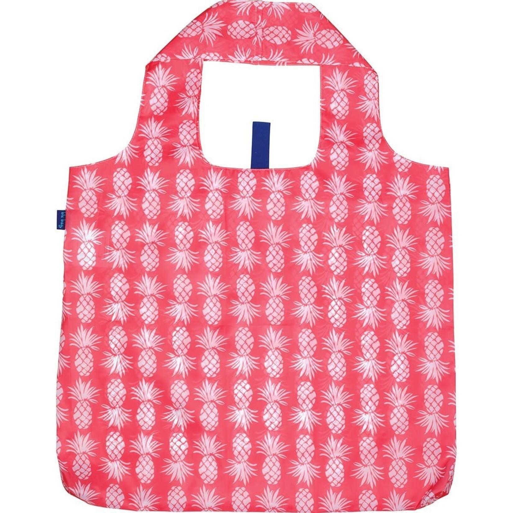 Rock Flower Paper 39-8123W Pineapple Pink Blu Bag