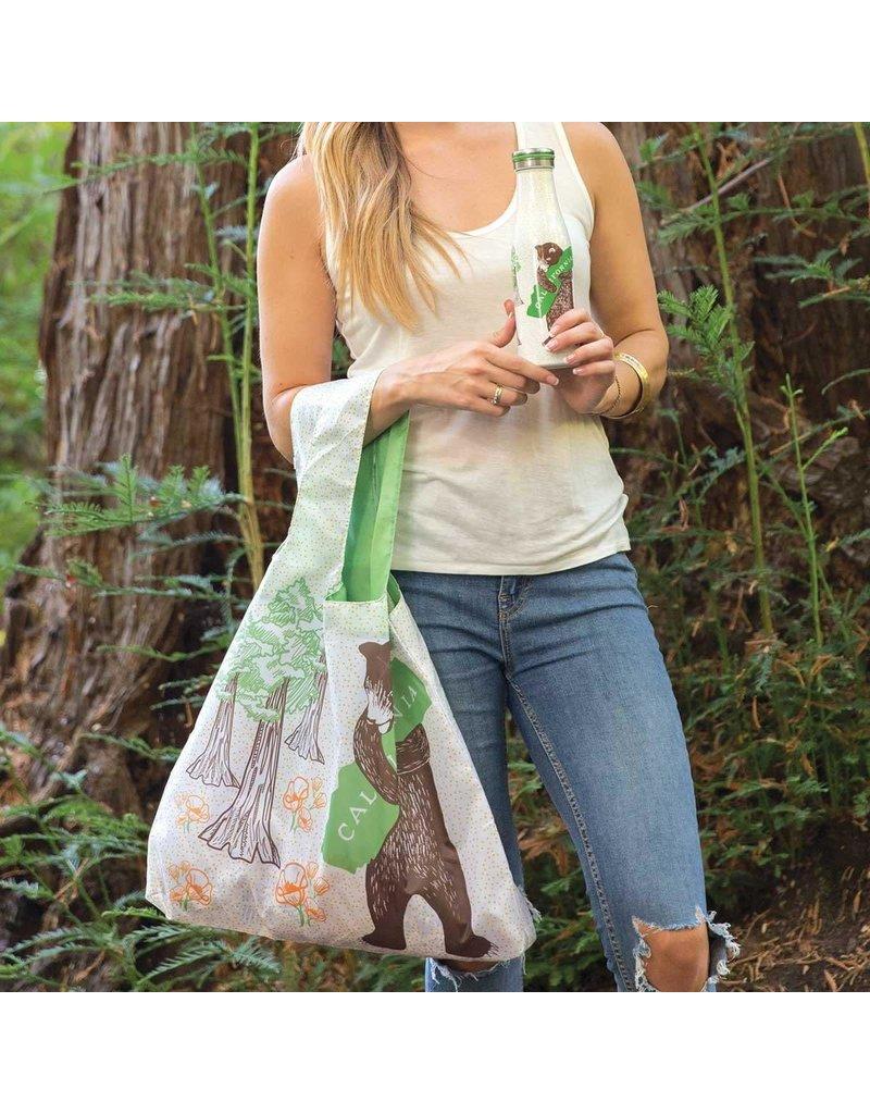 Rock Flower Paper 39-8381 California Bear Blu Bag