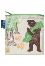 Rock Flower Paper California Bear Blu Bag