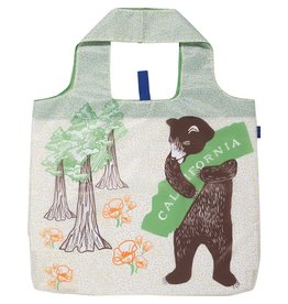 Rock Flower Paper 39-8381 California Bear Blu Bag