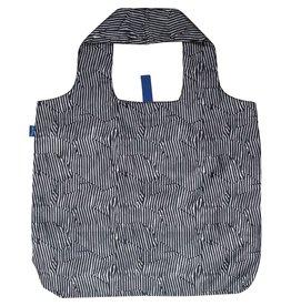 Rock Flower Paper Zebra Blu Bag