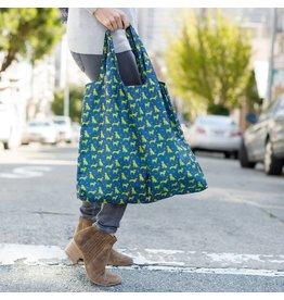Rock Flower Paper Dog Pack Navy Blu Bag