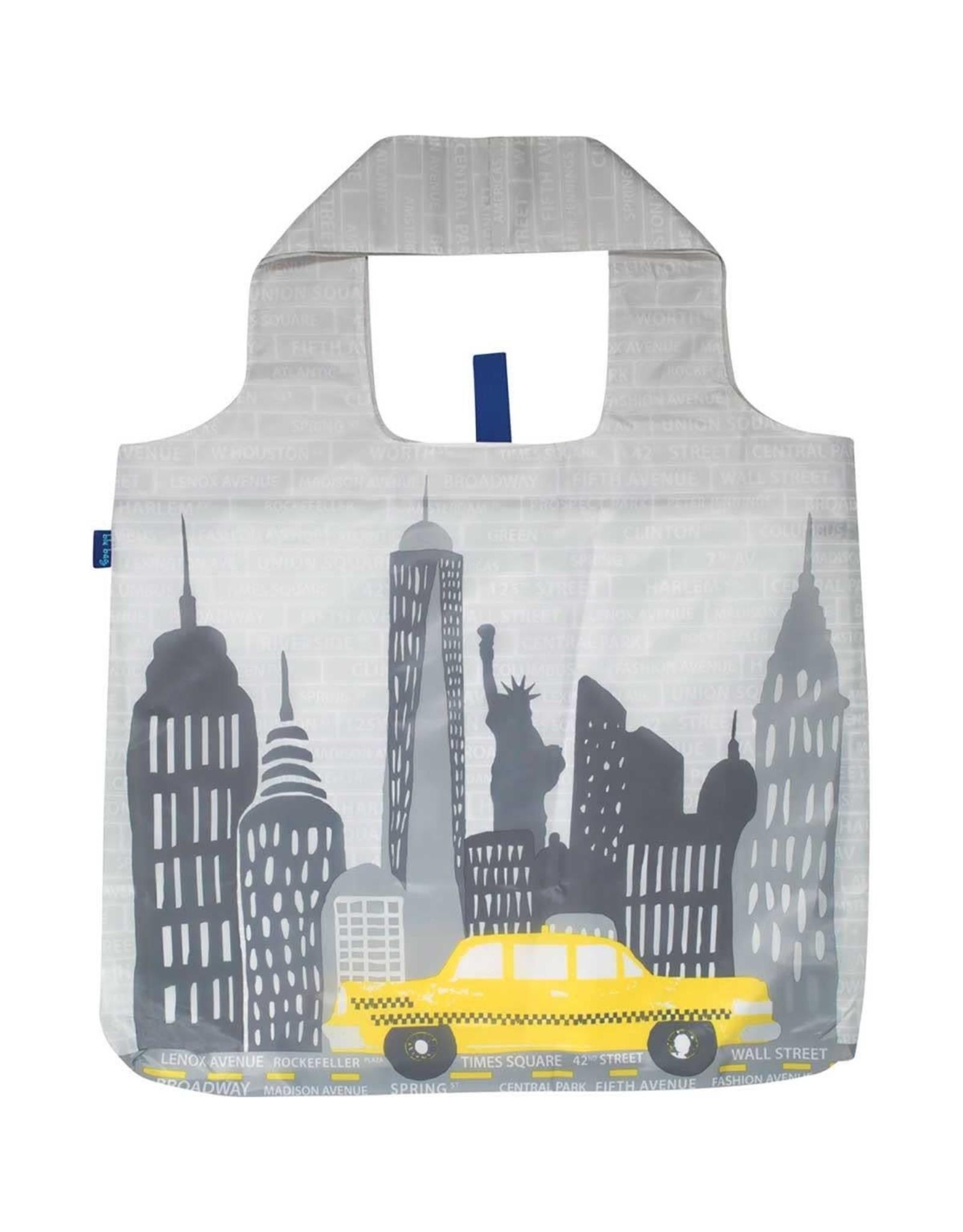 Rock Flower Paper 39-8384 NYC Blu Bag