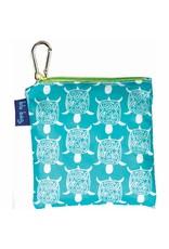 Rock Flower Paper Sea Turtle Ocean Blu Bag