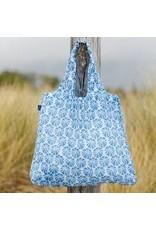 Rock Flower Paper Sea Urchin Blue Blu Bag