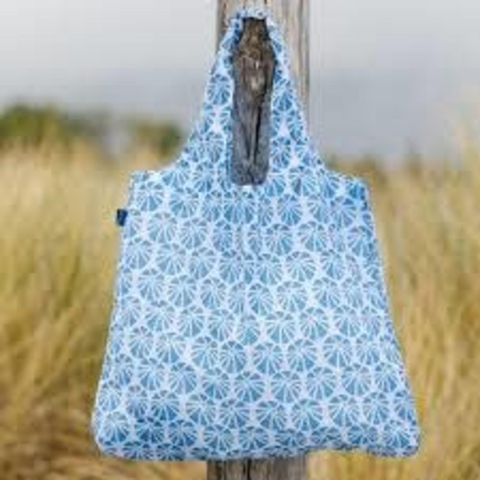 Rock Flower Paper 39-8112Q Sea Urchin Blue Blu Bag