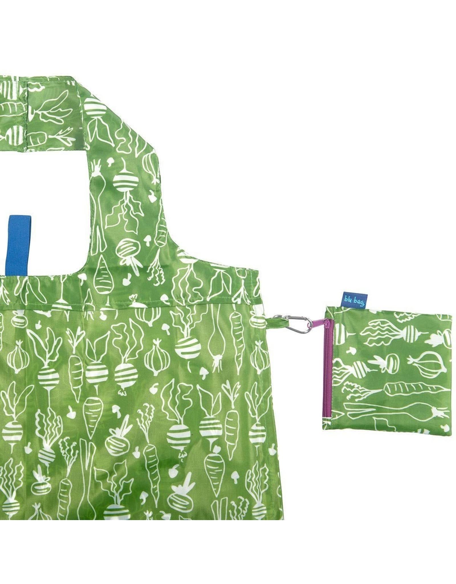 Rock Flower Paper 39-8283H Veggies Green Blu Bag